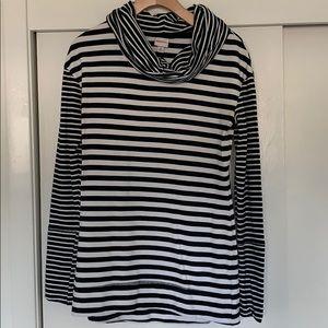 Black and white stripe Pullover